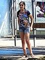 Girl at Bus Stop - Gori - Georgia (18270634899).jpg