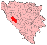 Glamoc Municipality Location.png