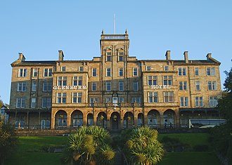 Rothesay, Bute - Glenburn Hotel, formerly a hydropathic establishment
