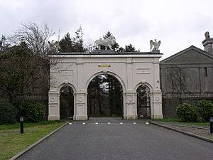 Glynllifon - Gateway at the main entrance