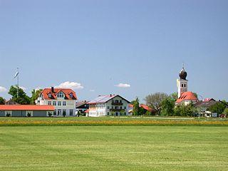 Bruckmühl Place in Bavaria, Germany