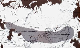 First Turkic Khaganate Khaganate of the Göktürks Ashina clan in medieval Inner Asia