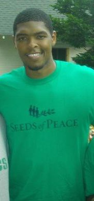 Ryan Gomes - Gomes visiting Seeds of Peace in July 2007