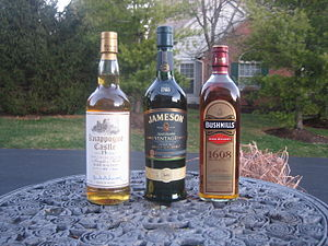 Irish whiskey - Irish whiskeys