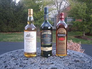 Irish whiskey Popular spirit made in Ireland