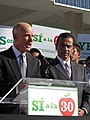 Gov. Jerry Brown and Mayor Villaraigosa (8117048389).jpg