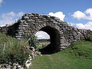 Ein Tor der Anlage