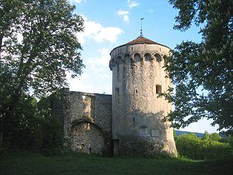 Kalec Castle - Image: Grad Kalec 1