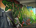 Graffiti in the passage by Stroud Post Office - geograph.org.uk - 1613460.jpg