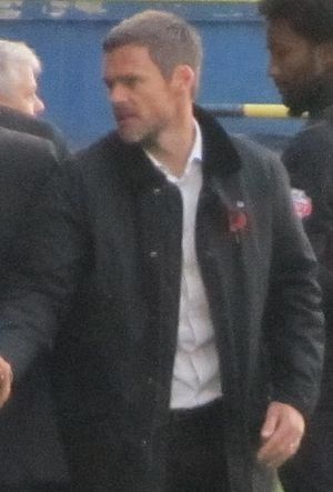 Graham Alexander - Alexander as manager of Fleetwood Town in 2013