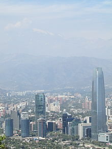 Gran Santiago Tower, Views from San Critóbal Hill - Santiago - Chile 09.jpg