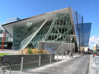 Bord Gáis Energy Theatre - Image: Grand Canal Theatre in Dublin