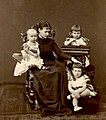 Grand Duchess Maria Pavlovna of Russia with her sons.jpg
