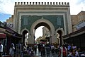 Grande Porte Bab Boujloud, Fes, Morocco - panoramio.jpg
