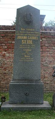 Grabstätte von Johann Seidl (Quelle: Wikimedia)