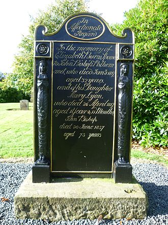 Harthill, Scotland - Grave of Elizabeth Burns at Whitburn