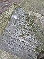 Gravestone in Old Jewish Cemetery - Babi Yar - Kiev - Ukraine (26963308761).jpg