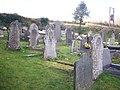Graveyard, Calfaria Chapel, Login, Whitland - geograph.org.uk - 1245072.jpg