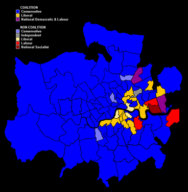 Results in London