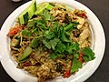 Green curry fried rice (9430308711).jpg