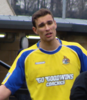 Greg Young playing for Altrincham
