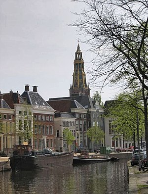 Gracht - Gracht in Groningen, locally referred to as diep