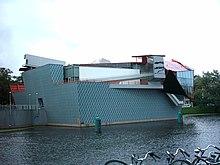 Il Groninger Museum di Groningen, Paesi Bassi, progettato da Alessandro Mendini.