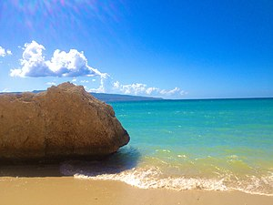 圣马克: Grosse Roche Beach in Saint-Marc, Haiti