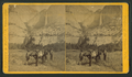 Group of tourists with a horse, from Robert N. Dennis collection of stereoscopic views.png