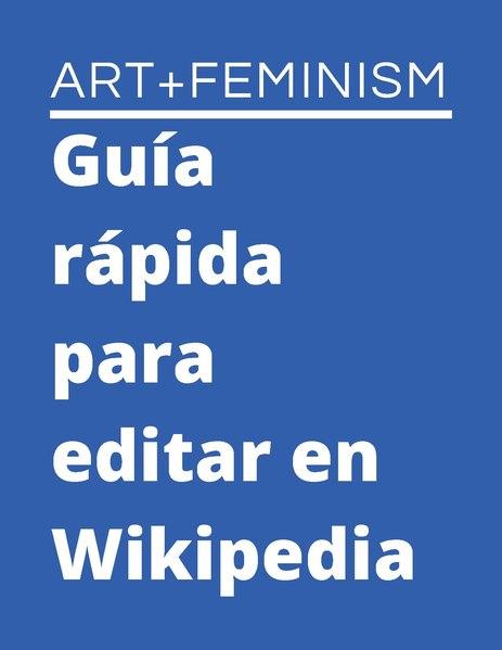 File:Guía rápida para editar en Wikipedia A+F 2020 Español.pdf
