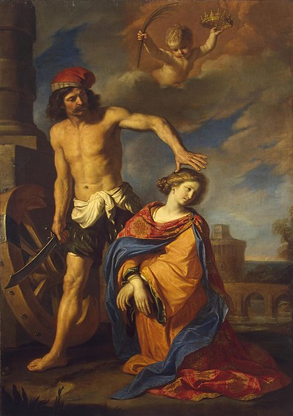 File:Guercino - Martyrdom of St Catherine - WGA10940.jpg