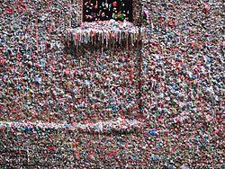 Gum Wall, Pike Place Market, Seattle (2014) - 1.JPG