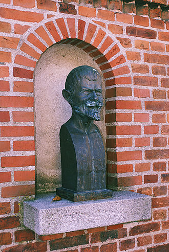 Elise Brandes - Elise Brandes: bust of Gustav Wied (1909)