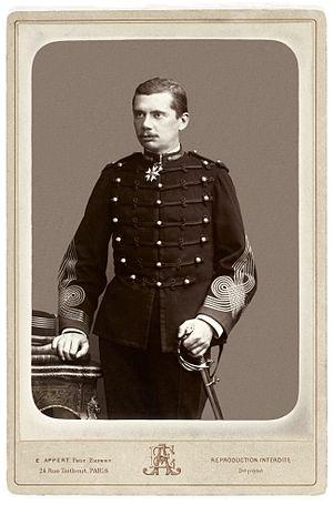Gustave Borgnis-Desbordes - Colonel Borgnis-Desbordes, photographed in 1886