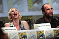 Gwendoline Christie & Rory McCann (14588014718).jpg