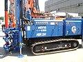 HÜTTE HBR 204 drilling rig at Construct Expo Utilaje 2010.JPG
