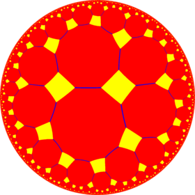 Truncated order-4 hexagonal tiling