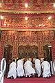 HK 西營盤 Sai Ying Pun 香港 中山紀念公園 Dr Sun Yat Sen Memorial Park 香港盂蘭勝會 Ghost Yu Lan Festival 神壇 Altar stage Sept 2017 IX1 08.jpg