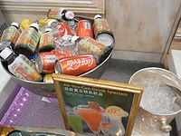 HK CWB 富豪香港酒店 Regal Hong Kong Hotel Buffet Special drinks Coke Extra Charges Aug-2010.JPG