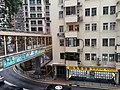 HK ML 半山區 Mid-levels 羅便臣道 Robinson Road escalators n footbridge February 2020 SS2 02.jpg