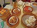 HK SYP 德韾苑 Tak Hing Yuen Seafood Restaurant steamed chinese foods Mar-2013 Steamers.JPG
