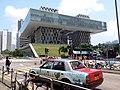 HK TKL 調景嶺 Tiu Keng Leng 彩明街 Choi Ming Street 景嶺道 King Ling Road HKDI red taxi April 2019 SSG 05.jpg