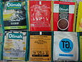 HK oversea tour collection tea bags from hotel rooms Feb-2016 Dilmah.JPG