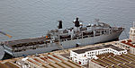 HMS Bulwark (L15) berthed at The Tower, HM Naval Base, Gibraltar.jpg