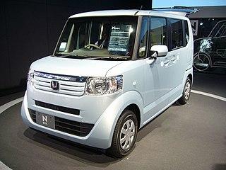 Honda N-Box Motor vehicle