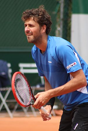 Robin Haase - Haase at the 2015 French Open