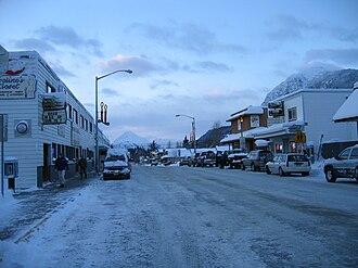 Haines, Alaska - Main Street, downtown Haines
