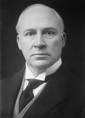 Secretary for Overseas Trade - Sir Hamar Greenwood, Bt, later Viscount Greenwood, who served as Secretary for Overseas Trade between 1919 and 1920.