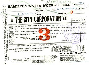 Early Hamilton Ontario legal documents pertain...