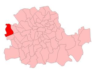 Hammersmith North (UK Parliament constituency) - Hammersmith North 1918-50